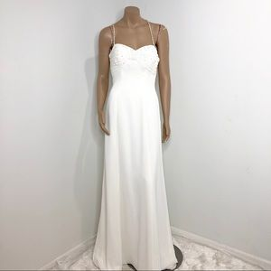 WHITE WEDDING/PROM GOWN